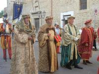 Corteo Rievocazione Storica dell'investitura a 1° Principe della Città di Carlo d'Aragona e Tagliavia - 26 maggio 2012  - Castelvetrano (558 clic)