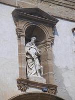 Basilica Madonna del Soccorso - particolare della facciata - 6 settembre 2012  - Sciacca (327 clic)
