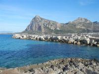 panorama sul mare dalla via Faro e Monte Monaco - 9 maggio 2012  - San vito lo capo (350 clic)