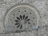 il rosone del Duomo - 25 aprile 2012  - Erice (454 clic)
