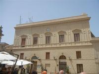 Palazzo Polizia Municipale in Piazza Vittorio Emanuele - 5 agosto 2012  - Erice (339 clic)