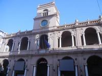 Palazzo VII Aprile 1860 - centro storico - 9 settembre 2012  - Marsala (330 clic)