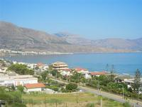 Zona Plaja - panorama ovest del Golfo di Castellammare - 12 agosto 2012  - Alcamo marina (291 clic)