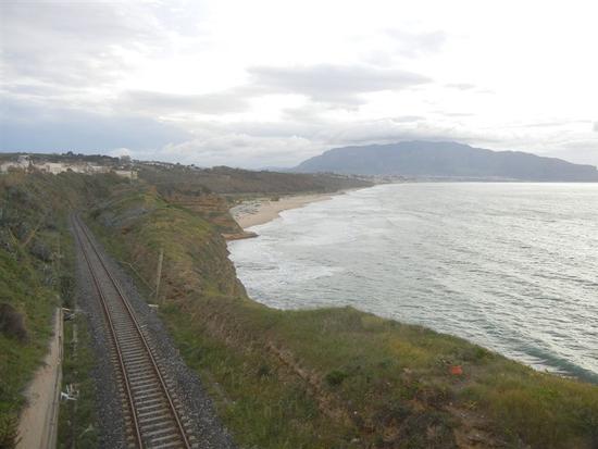 panorama costiero dal Belvedere - BALESTRATE - inserita il 16-Jul-14