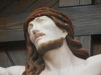 Cristo del Belvedere - particolare - 22 gennaio 2012  - Castellammare del golfo (464 clic)