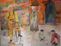Primo Presepe artistico lu scarparu - 8 gennaio 2012  - Marinella di selinunte (556 clic)