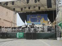 Settimana della Musica - il palco in Piazza Santuario - 29 aprile 2012  - San vito lo capo (403 clic)