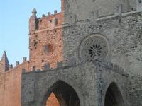 Duomo - particolare - 25 aprile 2012  - Erice (479 clic)