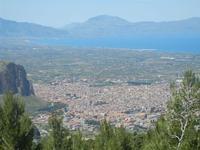 panorama Partinico e Golfo di Castellammare - 9 maggio 2012  - Borgetto (1075 clic)