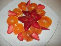 arancia e fragole con zucchero e maraschino - Busith - 29 aprile 2012  - Buseto palizzolo (797 clic)