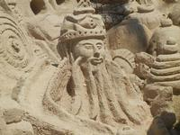 castelli di sabbia - sculture sulla sabbia di Iannini Antonio, scultore napoletano sanvitese - 18 agosto 2012  - San vito lo capo (200 clic)