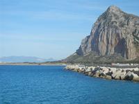 panorama sul mare dalla via Faro e Monte Monaco - 9 maggio 2012  - San vito lo capo (303 clic)