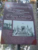 cartello Il Santo Calvario (Li Tri Cruci) - 27 maggio 2012  - Castelvetrano (849 clic)