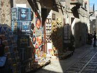bottega di souvenir - 3 giugno 2012  - Erice (338 clic)