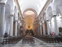 interno della Chiesa Madre - centro storico - 9 settembre 2012  - Marsala (358 clic)