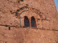 finestra bifora sulla Torre campanaria - 25 aprile 2012  - Erice (563 clic)
