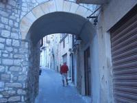 vicolo con arco - 28 agosto 2012  - Chiusa sclafani (748 clic)
