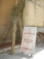 cartello Mostra Permanente Etnoantropologia - La Vita nella Devozione - Ceto dei Borgesi di San Giuseppe - 22 aprile 2012  - Calatafimi segesta (449 clic)