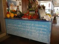 la casa del cous cous sanvitese frutta, ortaggi, olio e ceramiche - 18 agosto 2012  - San vito lo capo (485 clic)