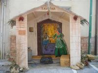 Primo Presepe artistico taverna - 8 gennaio 2012  - Marinella di selinunte (529 clic)