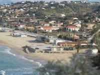 Spiaggia Plaja - panorama dalla periferia est della città - 17 gennaio 2012   - Castellammare del golfo (353 clic)