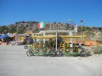zona porto - tandem e stand - 12 agosto 2012  - San vito lo capo (374 clic)
