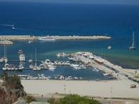 panorama dalla collina - porto - 18 agosto 2012  - San vito lo capo (343 clic)