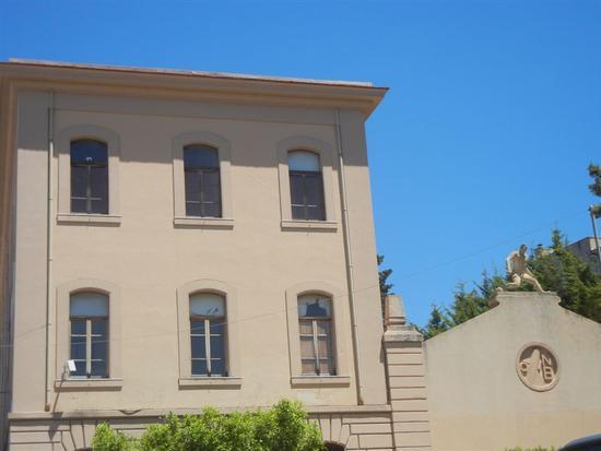 Municipio e palestra di epoca fascista - BORGETTO - inserita il 13-Nov-14