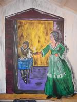 Primo Presepe artistico taverna - 8 gennaio 2012  - Marinella di selinunte (965 clic)
