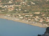 Spiaggia Plaja vista dal Belvedere  - 1 giugno 2012  - Castellammare del golfo (221 clic)