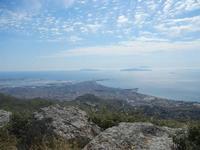 panorama Trapani, saline ed Isole Egadi - 3 giugno 2012  - Erice (409 clic)