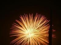 spettacolo pirotecnico - festeggiamenti in onore di Maria SS. dei Miracoli - 21 giugno 2012  - Alcamo (218 clic)