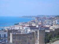panorama costiero e città - 6 settembre 2012  - Sciacca (416 clic)