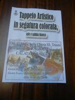 locandina Tappeto Artistico - 22 aprile 2012  - Calatafimi segesta (473 clic)