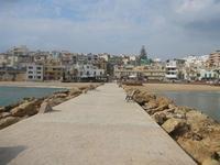 la città vista dalla passeggiata sul mare - 25 marzo 2012  - Marinella di selinunte (486 clic)