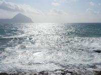 Golfo del Cofano e mare in tempesta - 8 aprile 2012  - Macari (541 clic)