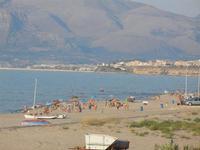 Zona Canalotto - panorama est del Golfo di Castellammare - 3 agosto 2012  - Alcamo marina (244 clic)