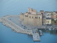 Castello a Mare visto dal Belvedere  - 1 giugno 2012  - Castellammare del golfo (278 clic)