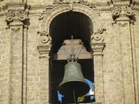 il campanile della Chiesa Parrocchiale di San Giuliano - particolare - 1 aprile 2012  - Erice (888 clic)