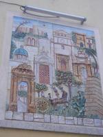murales - C. Perconte - 1987 - 6 settembre 2012  - Sciacca (738 clic)