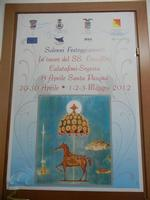 locandina festeggiamenti in onore del SS. Crocifisso - 22 aprile 2012  - Calatafimi segesta (494 clic)