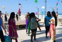 4° Festival Internazionale degli Aquiloni - I Soffi del Mondo, danze di differenti paesi a cura dell'Associazione Interculturale Narramondi Onlus - 24 maggio 2012 - foto di Nicolò Pecoraro  - San vito lo capo (999 clic)