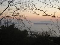 Isole Egadi al tramonto - 25 aprile 2012  - Erice (514 clic)