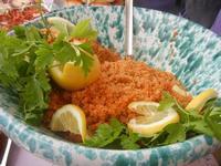 gastronomia in vetrina - cous cous - 29 aprile 2012  - San vito lo capo (855 clic)