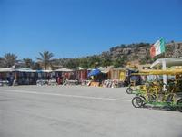 zona porto - tandem e stand - 12 agosto 2012  - San vito lo capo (264 clic)