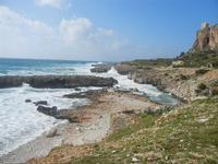 mare in tempesta all'Isulidda - 8 aprile 2012  - Macari (503 clic)