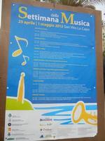 Settimana della Musica - la locandina - 29 aprile 2012  - San vito lo capo (374 clic)