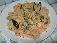 risotto di mare - Frutti di Mare da Giovanni - 3 luglio 2012  - Balestrate (758 clic)