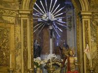 Chiesa del SS. Crocifisso - interno - 22 aprile 2012  - Calatafimi segesta (427 clic)