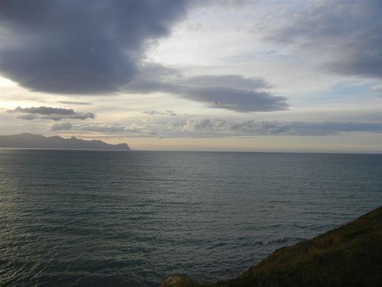 Golfo di Castellammare al tramonto - BALESTRATE - inserita il 16-Jul-14
